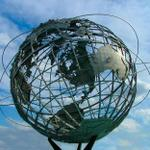 Unisphere in Flushing Meadows Park_ in Queens_ New York